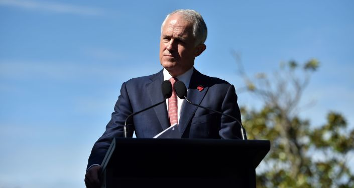 Australský premiér Malcolm Turnbull