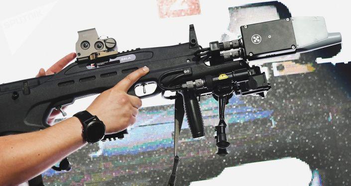 Rádiolektronická nesmrticí zbraň REX 1