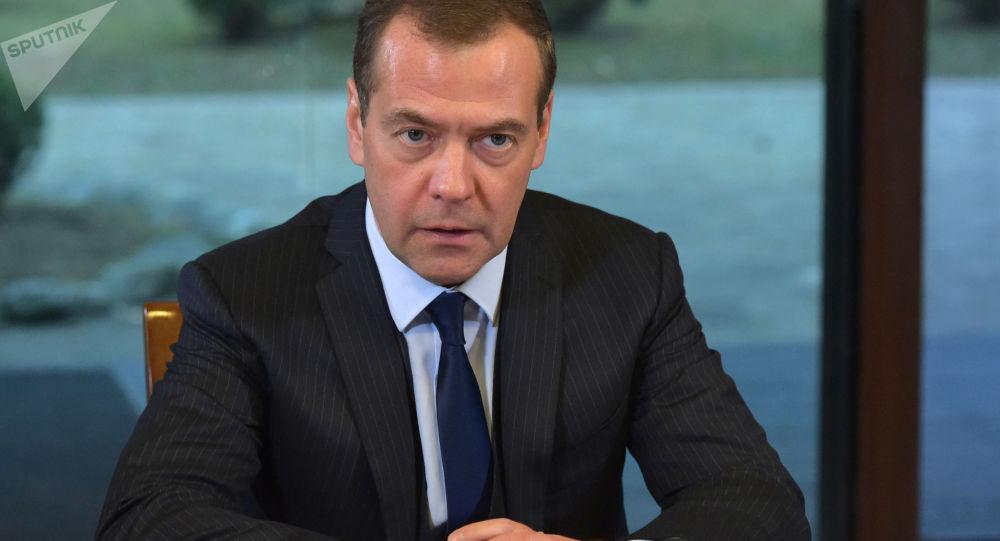 Ruský předseda vlády Dmitrij Medveděv