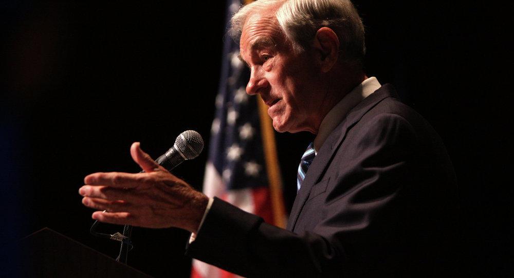 Účastník primárek prezidentských voleb 2008 a 2012 Ron Paul
