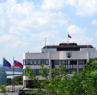 Slovenský parlament v Bratislavě