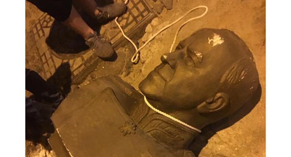 Památník Žukova v Oděse