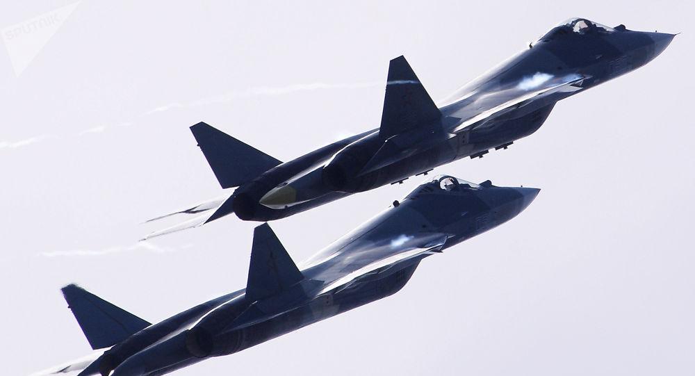 Ruské stíhačky T-50