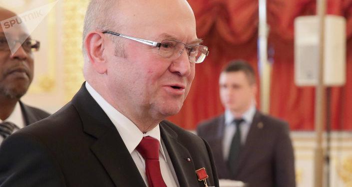 Český velvyslanec v Rusku Vladimír Remek