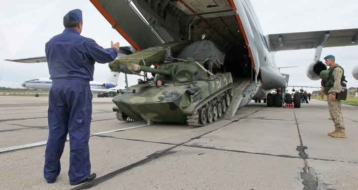 Rusko-běloruská cvičení Západ