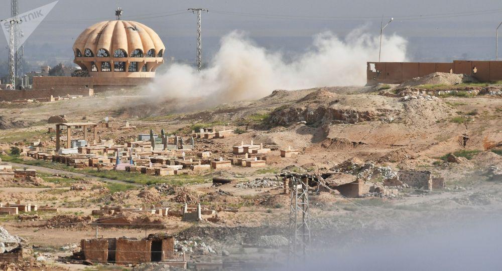 Situace v Sýrii. Archivní foto