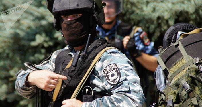 Policie v Luhansku. Ilustrační foto