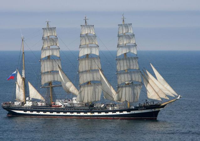 Ruská plachetnice  Kruzenštern
