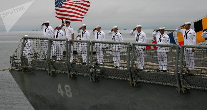 Američtí námořníci. Ilustrační foto