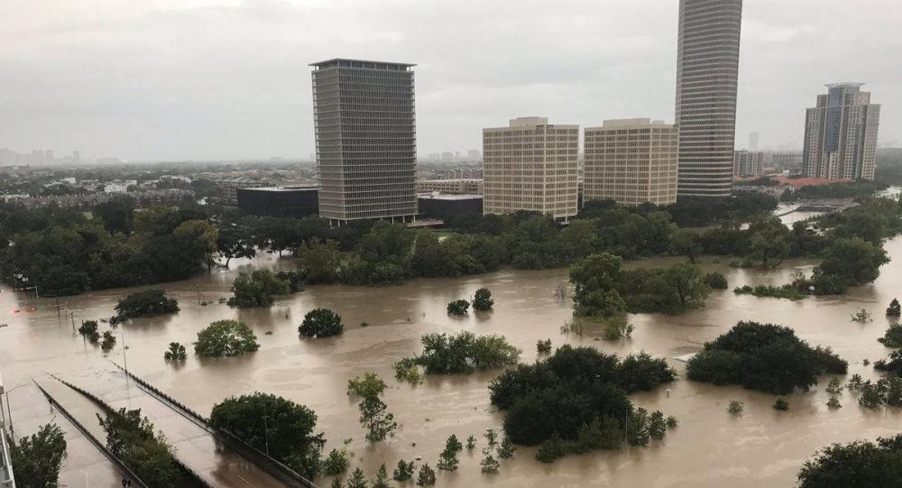 Povodeň v Houstonu