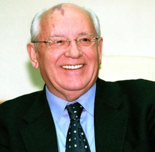 Bývalý prezident SSSR Michail Gorbačov