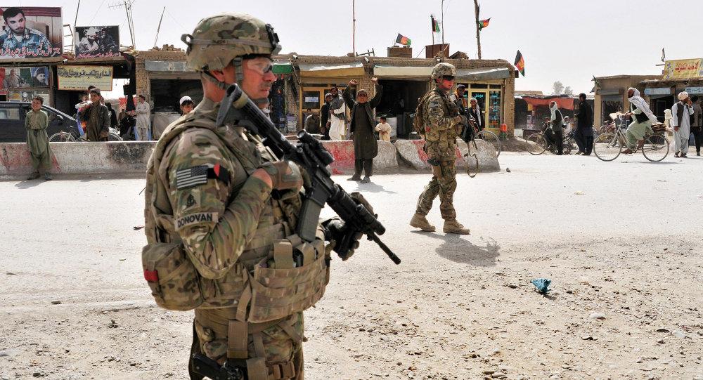 Americký voják v Afganistánu