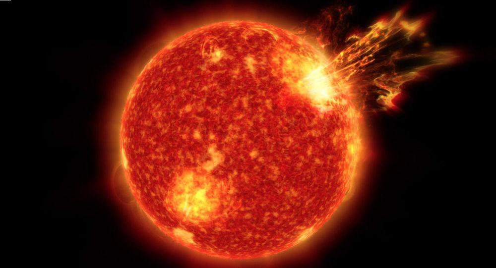 Erupce na Slunci