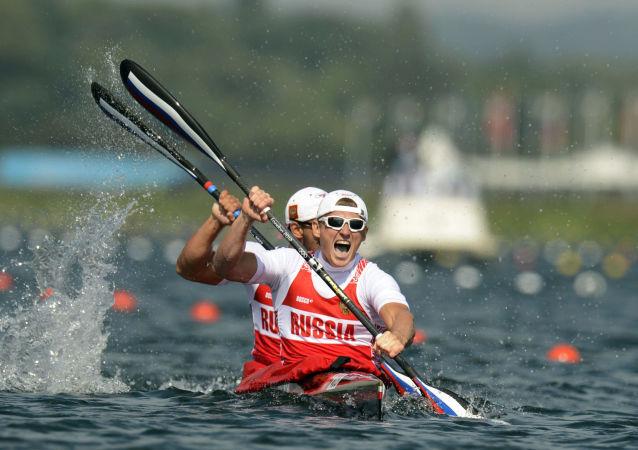 Ruští veslaři
