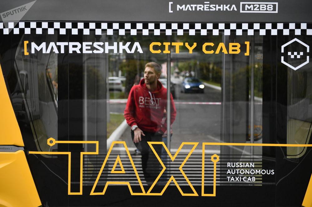 Smartbus Matrjoška: první ruský autonomní autobus