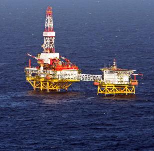 Těžba ropy LUKOILem v Baltském moři