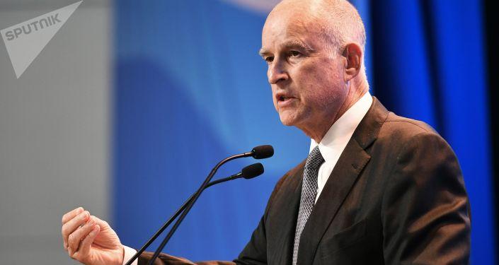 Guvernér Kalifornie Jerald Edmund Brown