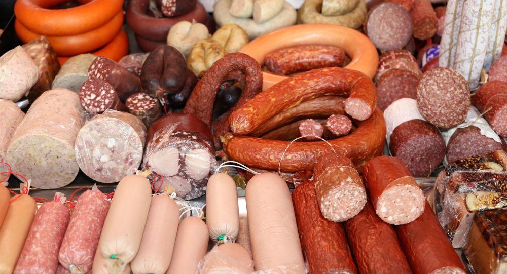 salám a výrobky ze zpracovaného masa