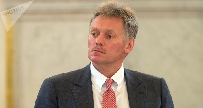 Tiskový mluvčí ruského hlavy státu Dmitrij Peskov
