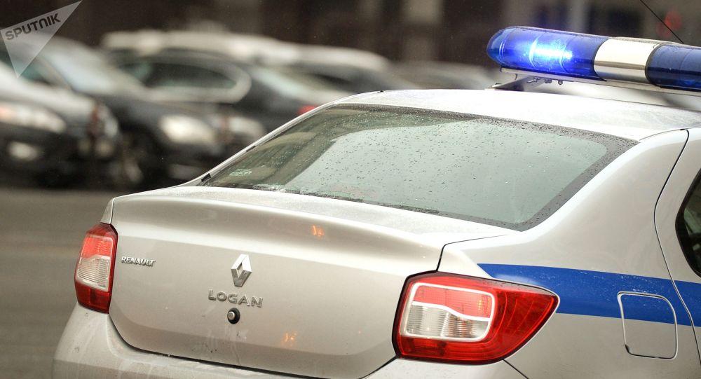 Policejní vůz v Rusku