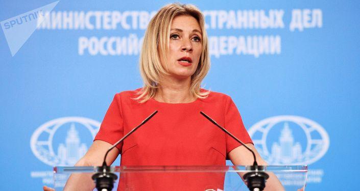 Oficiální mluvčí MZV RF Maria Zacharovová