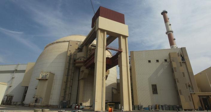 Íránská jaderná elektrárna Búšehr. Ilustrační foto