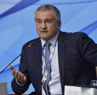 Krymský premiér Sergej Aksjonov