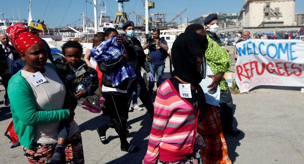 Migranti v Itálii
