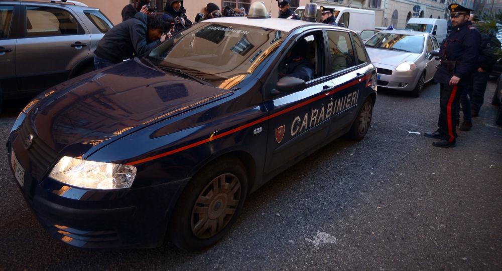 Italští policisté a karabiníci