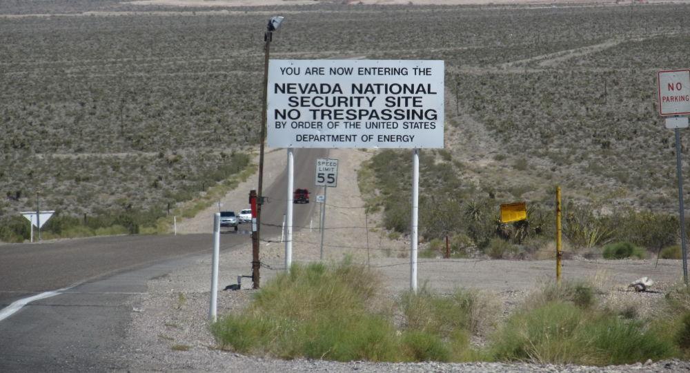 Zkušební prostor v Nevadě