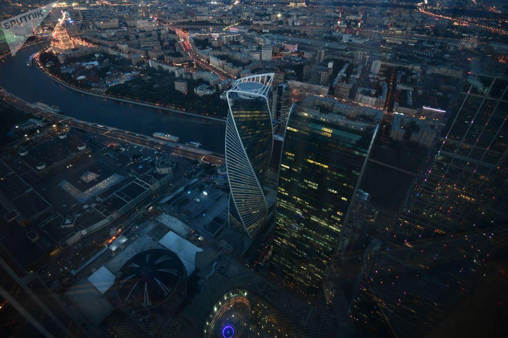 V Moskvě otevřou nejvyšší vyhlídkovou plošinu v Evropě