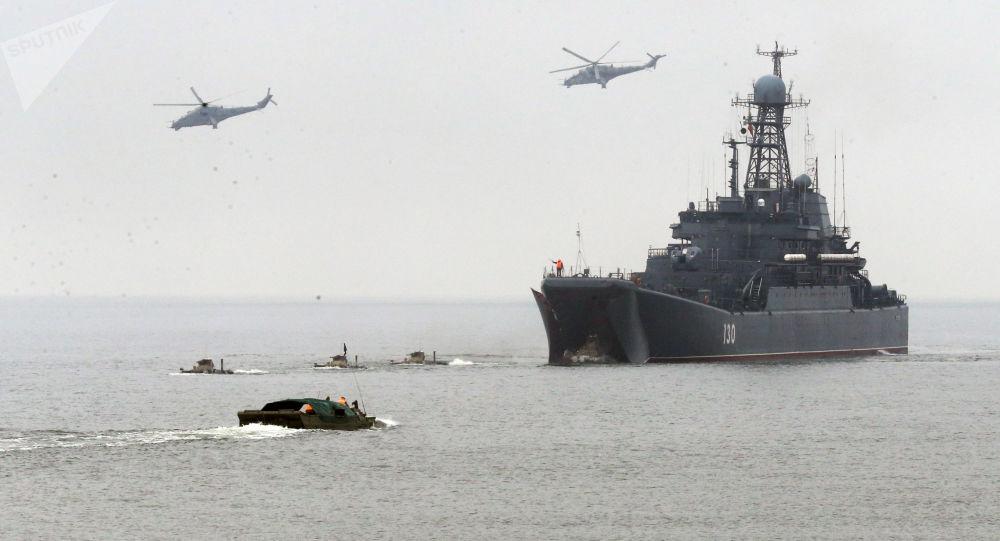Taktická cvičení Baltské flotily