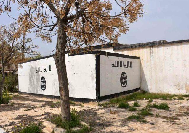 Symbol IS v provincii Aleppo