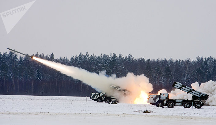 Raketomety BM-30 Smerč