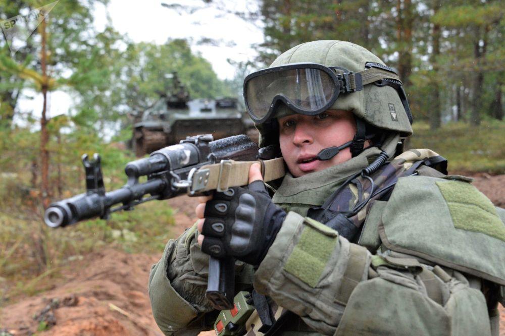 Rusko-běloruské cvičení Západ 2017
