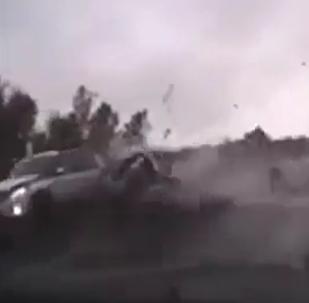 Bylo zveřejněno video nehody velitele ruských výsadkových vojsk