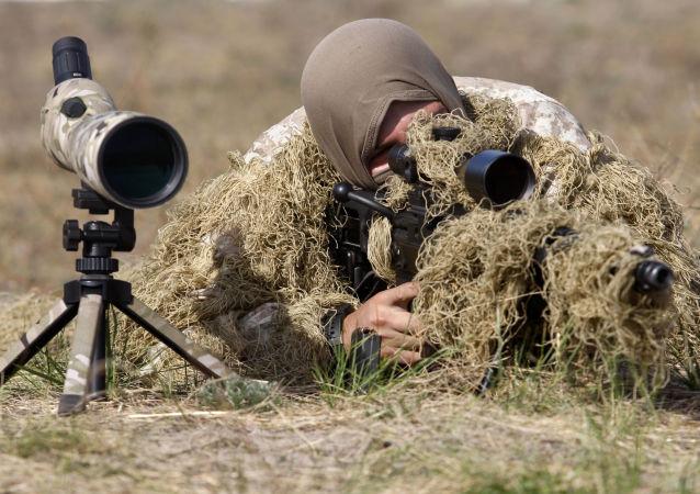 Ukrajinský odstřelovač
