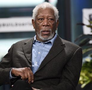 Americký herec Morgan Freeman