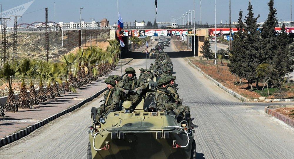 Ruští vojenští inženýři jedou do Aleppa