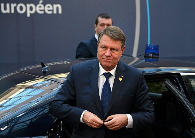 Rumunský prezident Klaus Iohannis