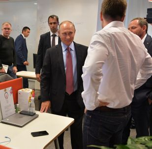 Putin v Yandexu