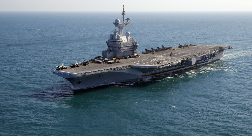 Francouzská letadlová loď Charles de Gaulle