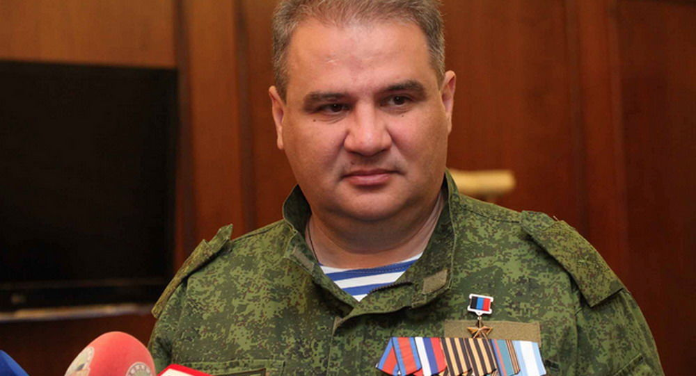 Ministr příjmů a poplatků DLR Alexandr Timofejev