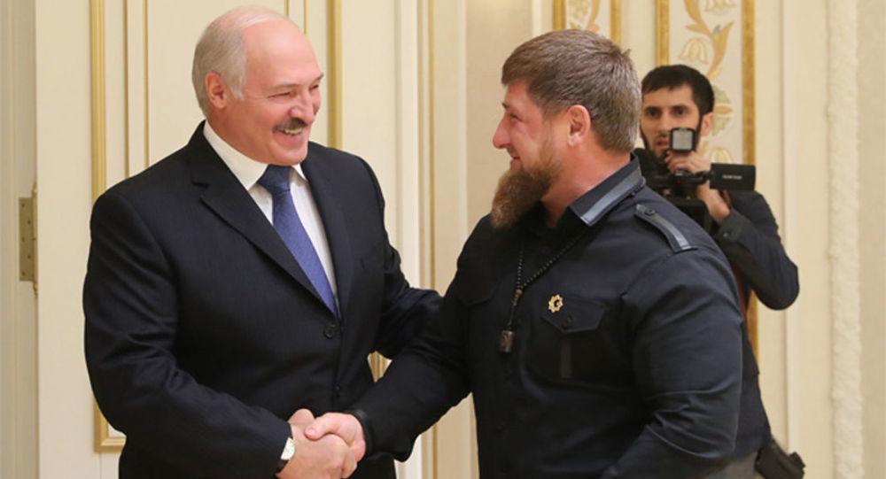 Alexandr Lukašenko a Ramzan Kadyrov