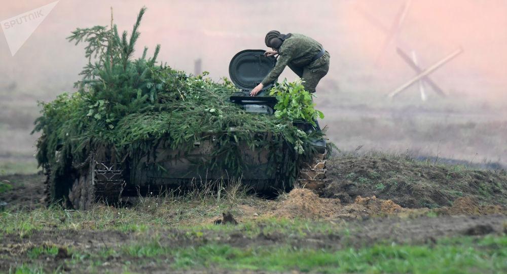 Cvičení Západ 2017 v Minské oblasti