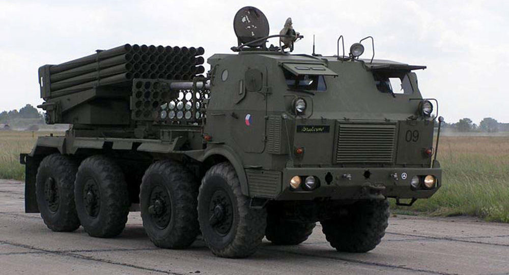 Raketomet RM-70 české armády