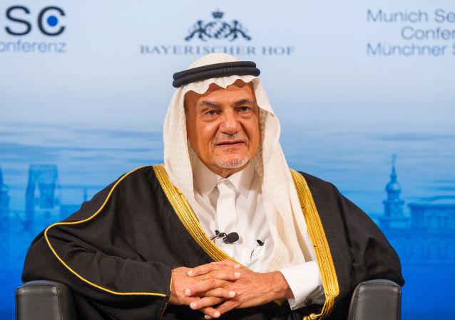 Saúdský princ Turki Faisal Al Saud