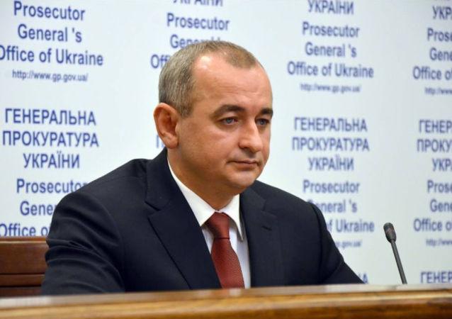Hlavní vojenský prokurátor Ukrajiny generálporučík justice Anatolij Matios