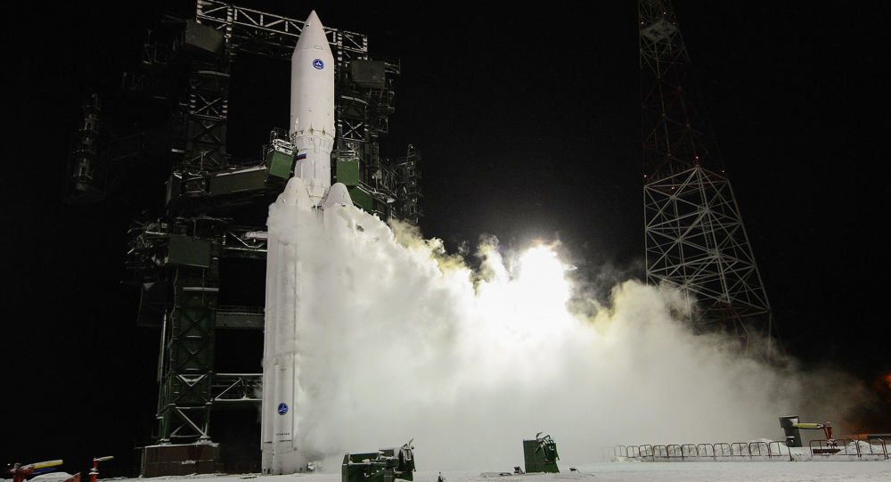 První zkouška rakety Angara A-5