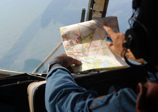 Hledání malajsijského Boeingu vietnamským letectvem